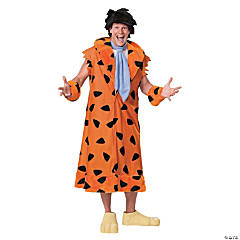 Men's Plus Size Fred Flintstone Costume