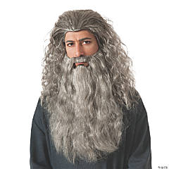 Men's The Hobbit™ Gandalf Wig & Beard
