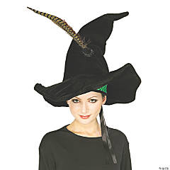 Girl's Professor McGonagall Hat with Feather