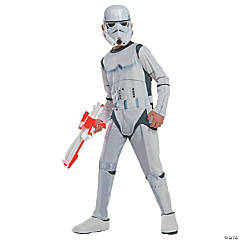 Boy's Photo Real Star Wars Stormtrooper Costume - Medium