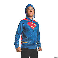 Boy's Batman v Superman: Dawn of Justice™ Superman Hoodie Costume - Large