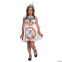 Girl's Star Wars: The Force Awakens™ BB-8 Costume - Large