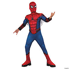 Kid's Deluxe Muscle Chest Spider-Man™ Costume - Medium
