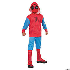 Kid's Deluxe Sweats Spiderman Costume- Small