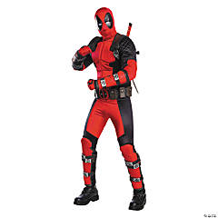 Men's Grand Heritage Deadpool™ Costume - Extra Large