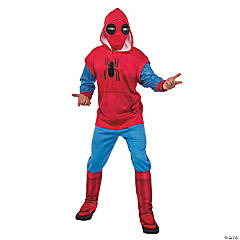 Men's Deluxe Sweatsuit Spider-Man™ Costume - Extra Large
