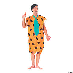 Adult's Fred Flintstone Costume - Standard