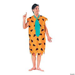 Adult's Fred Flintstone Costume - Extra Large