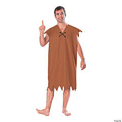 Adult's The Flintstones™ Barney Rubble Costume - Extra Large