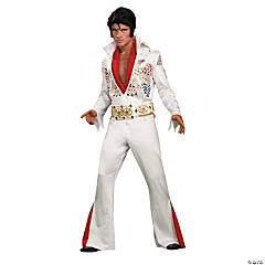Adult's Grand Heritage Eagle Jumpsuit Elvis Presley Costume - Medium