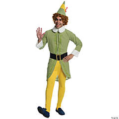 Adult's Buddy the Elf Costume - Standard
