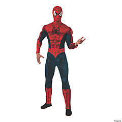 Men's Deluxe Muscle Chest Spider-Man™ Costume - Extra Large