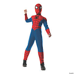 Boy's 2 In 1 Reversible Deluxe Spider-Man™ Costume - Medium