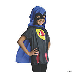 Girl's Teen Titans Go!™ Raven Costume Top - Small