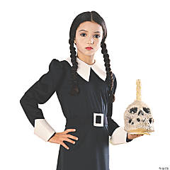 Girl's Wednesday Addams Costume - Small