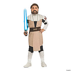 Kid's Clone Wars Obi-Wan Kenobi Costume - Large
