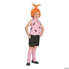 Girl's Flintstones Pebbles Costume - Large