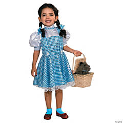 Girl's Sequin Wizard of Oz™ Dorothy Costume - Large