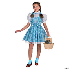 Girl's Deluxe Wizard of Oz™ Dorothy Costume - Large