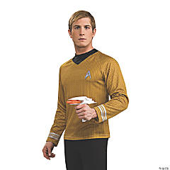 Adult's Deluxe Star Trek™ Captain Kirk Costume - Extra Large