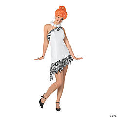 Women's Deluxe Wilma Flintstone Costume - Medium