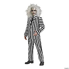 Adult's Deluxe Beetlejuice Costume - Extra Large