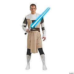 Men's Star Wars™ Clone Wars Obi-Wan Kenobi Costume - Extra Large
