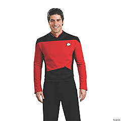 Adult's Deluxe Star Trek™: The Next Generation Commander Uniform Costume - Small
