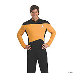 Adult's Deluxe Star Trek™: The Next Generation Operations Uniform Costume - Large
