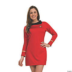 Women's Deluxe Uhura Star Trek Costume - Extra Small