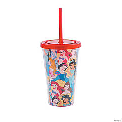 Disney Princess Tumblers with Straw