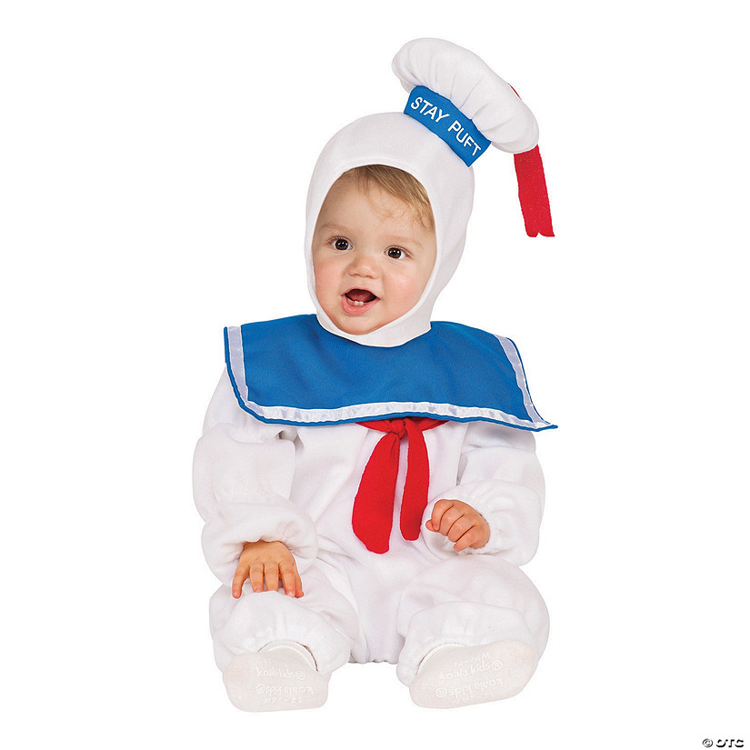 sc 1 st  Oriental Trading & Toddler E-Z On Ghostbusters Stay Puft Marshmallow Man Costume