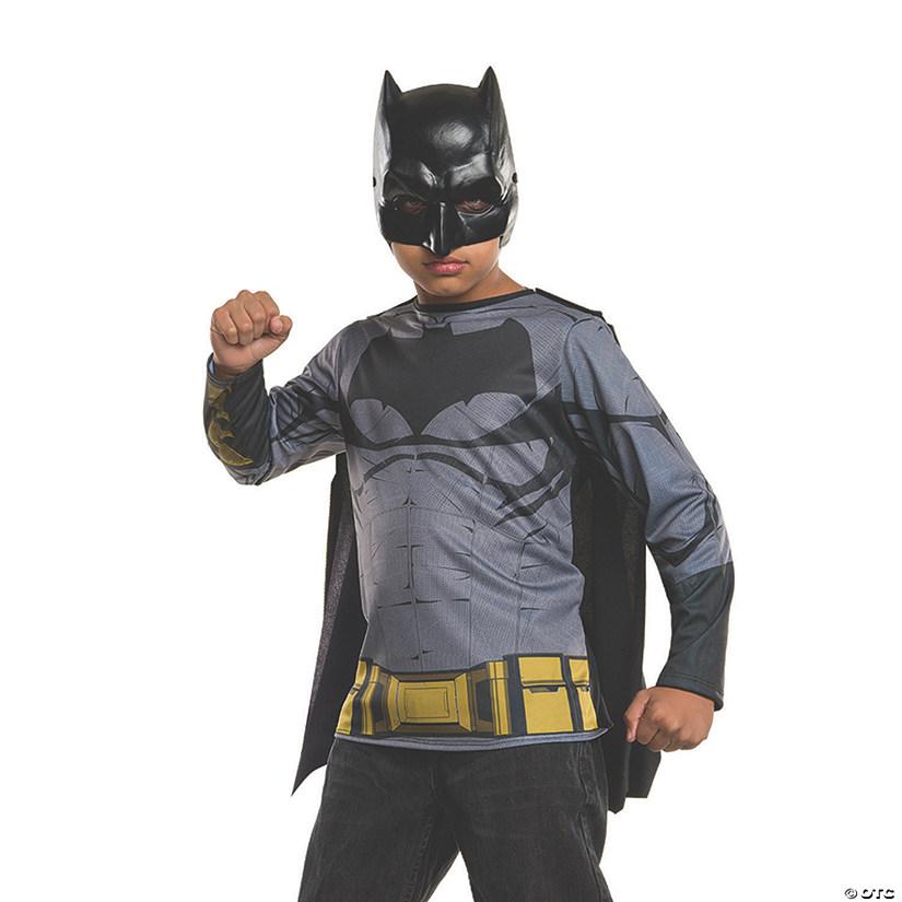 sc 1 st  Oriental Trading & Boyu0027s Batman v Superman: Dawn of Justice™ Batman Costume Top