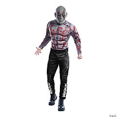 Adult Deluxe Muscle Chest Drax Costume
