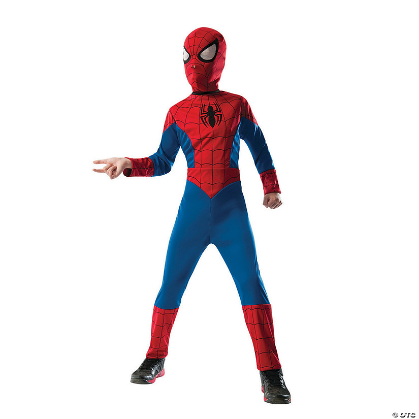 sc 1 st  Oriental Trading & Boyu0027s 2-in-1 Reversible Ultimate Spider-Man™ Costume