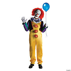 Men's Deluxe Pennywise Clown Costume