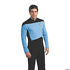 Men's Deluxe Star Trek™: The New Generation Science Uniform Costume