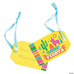 Bright Fiesta Favor Tags