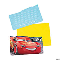 Cars 3™ Thank You Postcard Notes