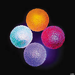 Light-Up Funky Bouncing Balls - (70mm)
