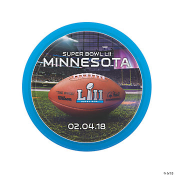 NFL<sup>®</sup> Super Bowl LII Paper Dinner Plates