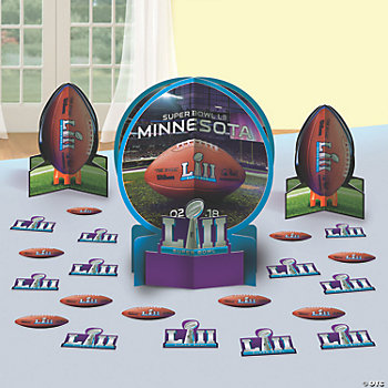 NFL<sup>®</sup> Super Bowl LII Table Decorating Kit