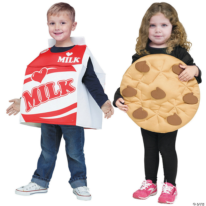 sc 1 st  Oriental Trading & Toddler Cookies u0026 Milk Couples Costumes - 3T-4T