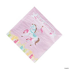 Carousel Baby Shower Paper Luncheon Napkins