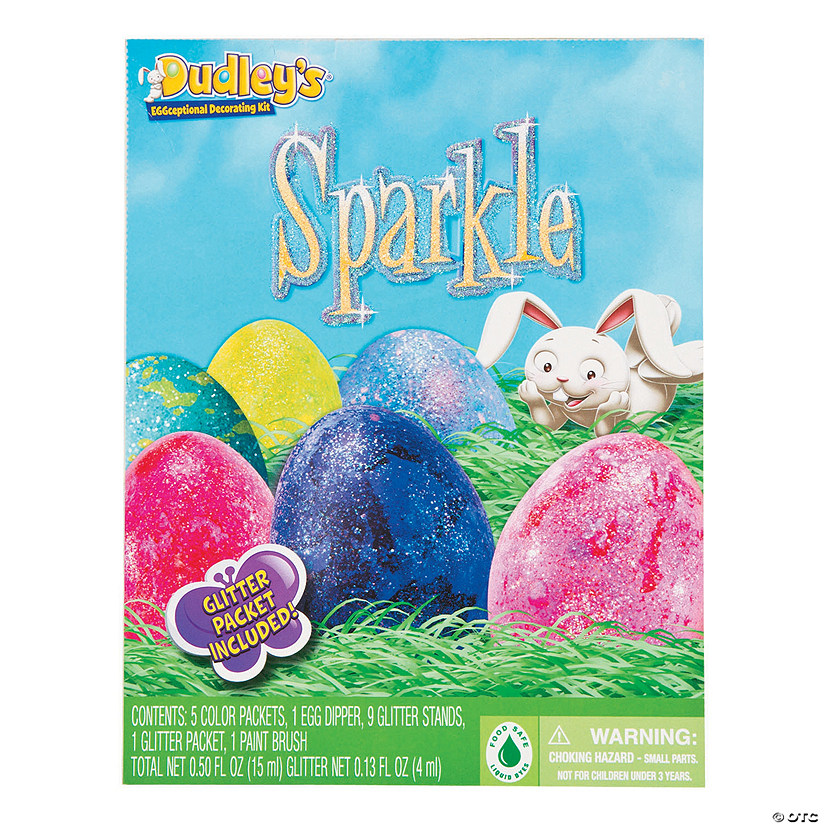 Dudley\'s<sup>®</sup> Sparkle Easter Egg Dye Kit