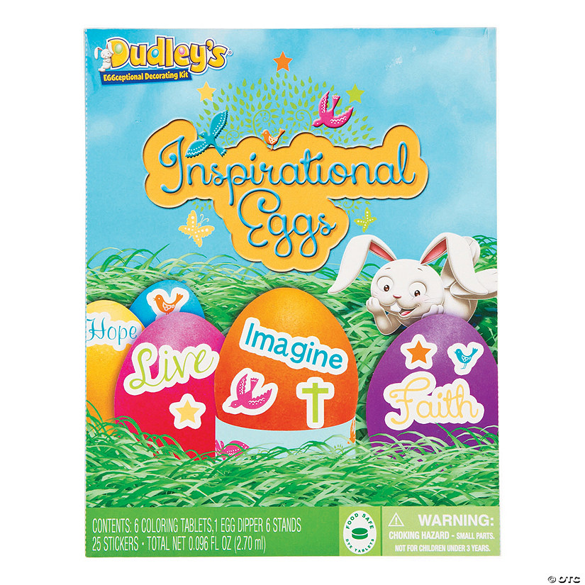 Dudley\'s<sup>®</sup> Inspirational Easter Egg Dye Kit