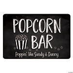 Personalized Popcorn Bar Sign