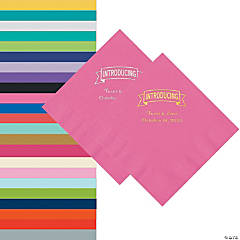 Introducing Personalized Napkins - Beverage or Luncheon