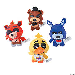 Plush Five Nights at Freddy&#8217;s<sup>&#8482;</sup> Freddy Fazbear&#8217;s Pizza Characters