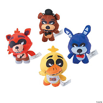 Plush Five Nights at Freddy's<sup>™</sup> Freddy Fazbear's Pizza Characters